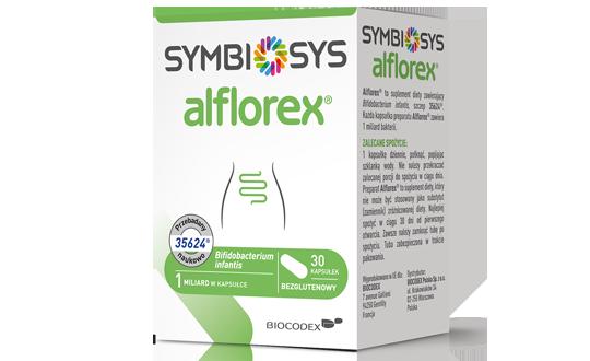 Alflorex Symbiosys 30 sztuk probiotyk lista