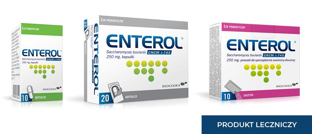 Enterol - probiotyk na biegunkę